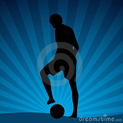 Beach Soccer Player