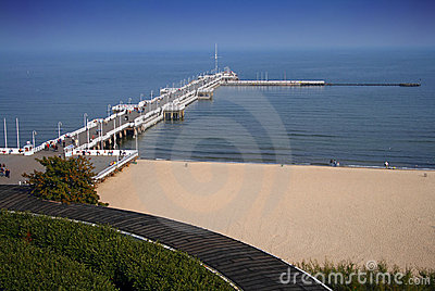 The Beach in Sopot