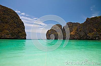 Beach in south of Thailand