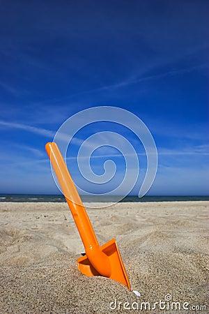 Beach spade