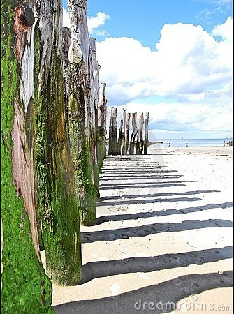 Beach in St Malo