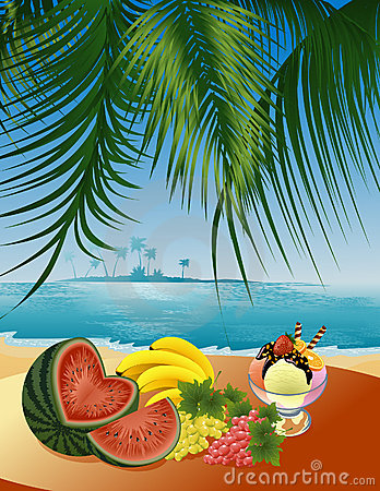Beach_still_life Stock Image - Image: 4887581