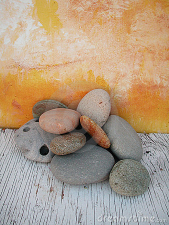 Free Beach Stones Natural Light Studio 1 Royalty Free Stock Image - 108986