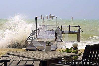 Beach stormy 2