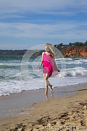 Free Beach Stroll Stock Photos - 30706283
