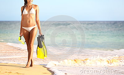 Beach summer travel holidays vacation concept