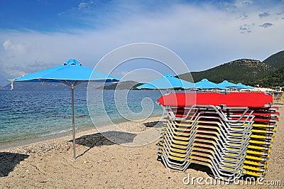 Beach for a sunbath