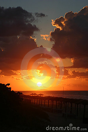 Free Beach Sunset Royalty Free Stock Images - 934719