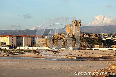 Beach in Tarifa, Andalusia Spain
