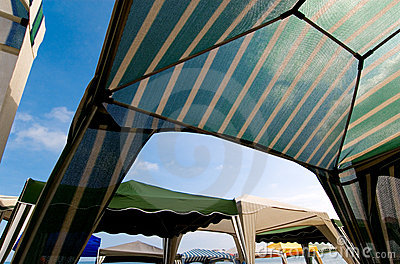 Beach tents 2