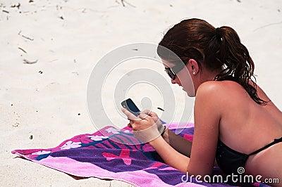 Beach Text