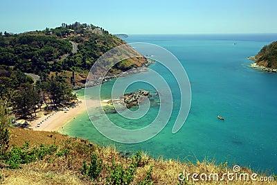 A beach of Thailand
