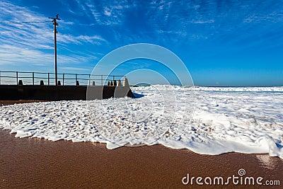Beach Tidal Pool Wave Surge Wash