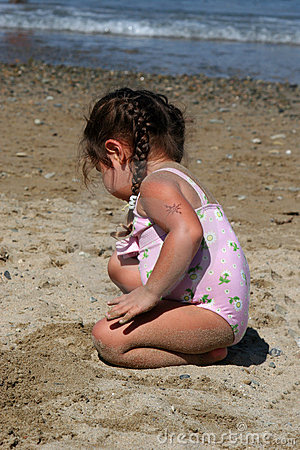 Beach Toddler