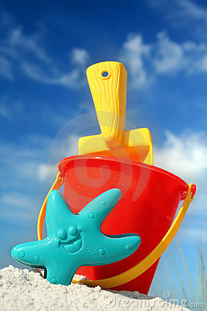 Free Beach Toys Royalty Free Stock Photo - 1747975