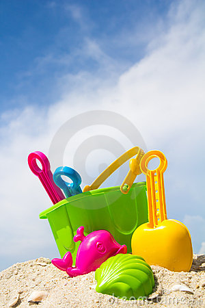 Free Beach Toys Stock Images - 19397024