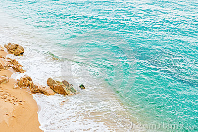 Beach And Tropical Sea Royalty Free Stock Photography - Image: 27866747