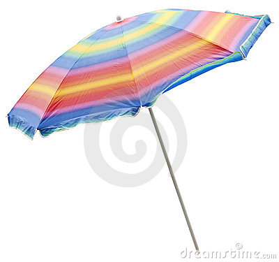 Free Beach Umbrella Stock Images - 19169144