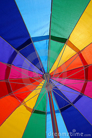 Free Beach Umbrella Abstract Stock Photos - 996133