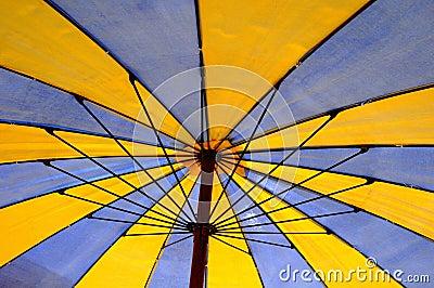 Beach umbrella detail