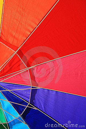 Beach umbrella detail