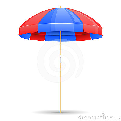 Free Beach Umbrella Icon Stock Photos - 24535913