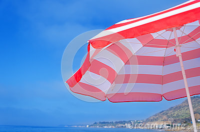 Beach umbrella s background
