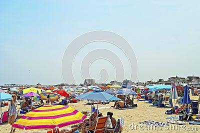 Beach Umbrellas Editorial Photography