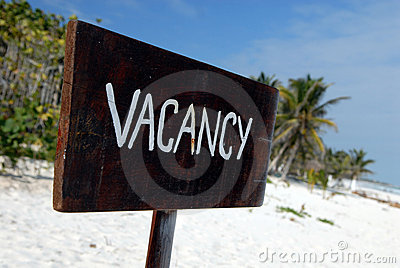 Beach vacancy