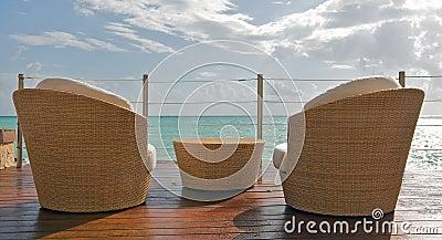 Beach View at Luxury Resort