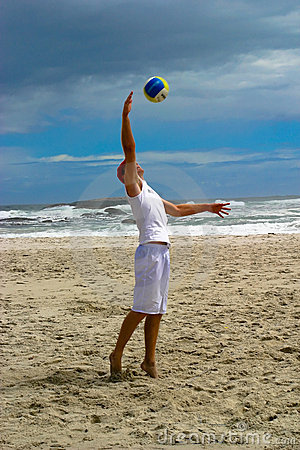Beach volley ball 1