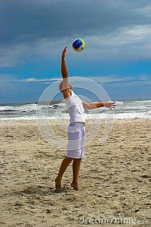 Beach volley ball 1