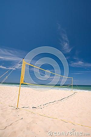 Beach volley ball net
