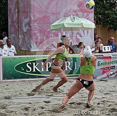 Free Beach Volley Team Stock Photos - 5729243
