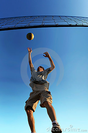 Free Beach Volleyball Stock Photo - 134720