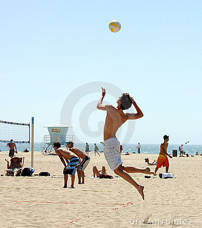 Free Beach Volleyball Royalty Free Stock Photos - 2295408