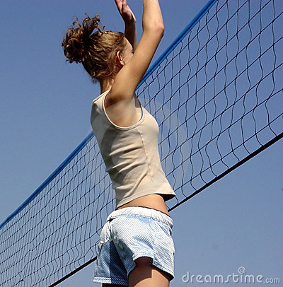 Free Beach Volleyball Stock Photography - 28562