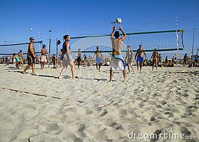 Beach volleyball Editorial Stock Photo