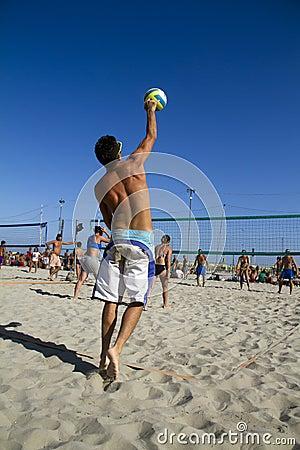 Beach volleyball Editorial Photo