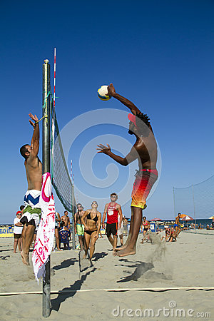 Beach volleyball Editorial Photography