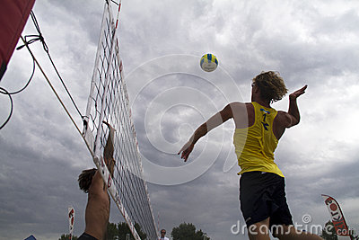 Beach volleyball Editorial Photo
