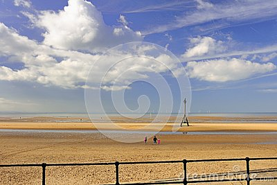 Beach walk, Crosby, Liverpool
