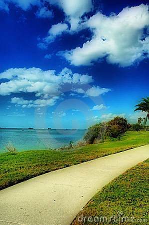 Free Beach Walkway Royalty Free Stock Photography - 4483417