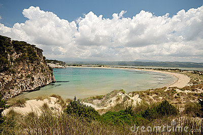 Beaches of Greece - Famous Voidiokoilia Beach