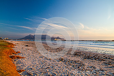 Beaches and Table Mountain