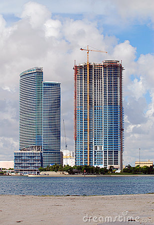 Beachfront construction