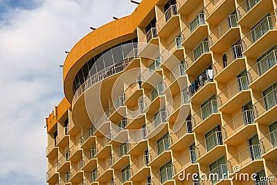 Beachfront Hotel High-Rise