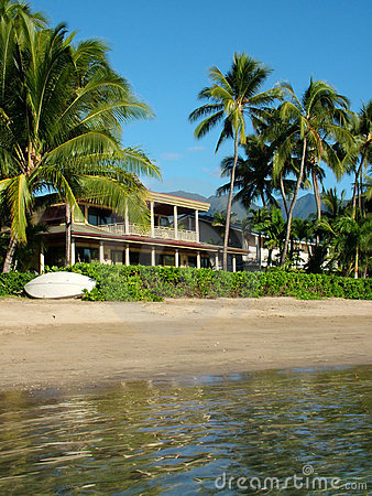 Beachfront Private Home