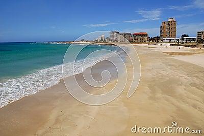 Beachfront showing a shoreline