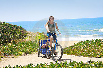 Beachside Bicycle Ride